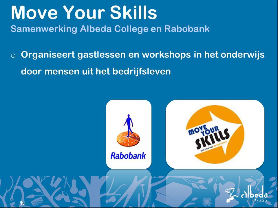 Move Your Skills Samenwerking Albeda College en Rabobank