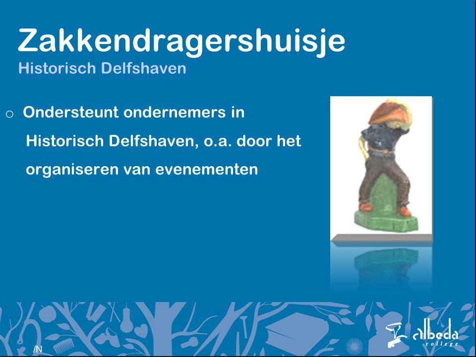 Zakkendragershuisje Historisch Delfshaven