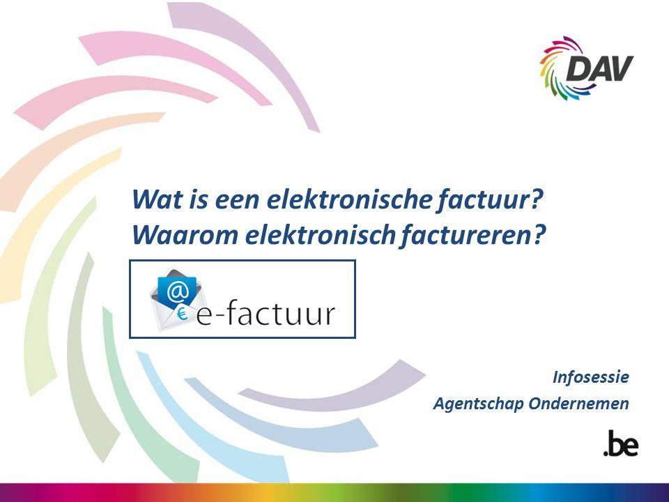 Wat is een elektronische factuur Waarom elektronisch factureren