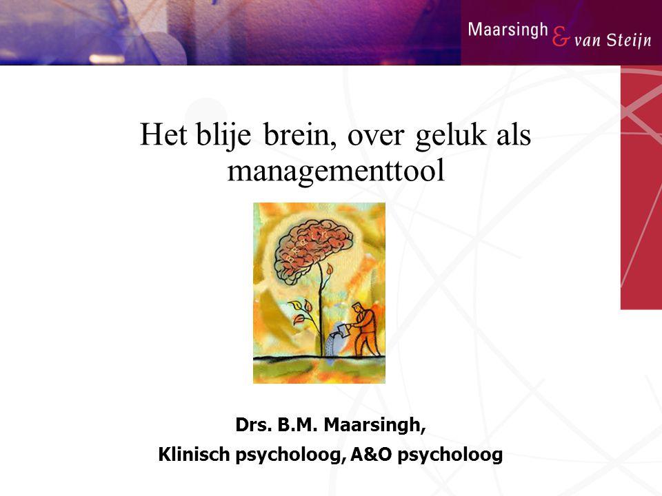 Klinisch psycholoog, A&O psycholoog