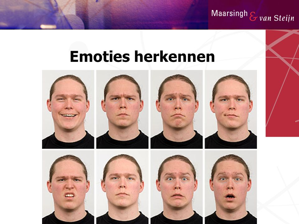 Emoties herkennen
