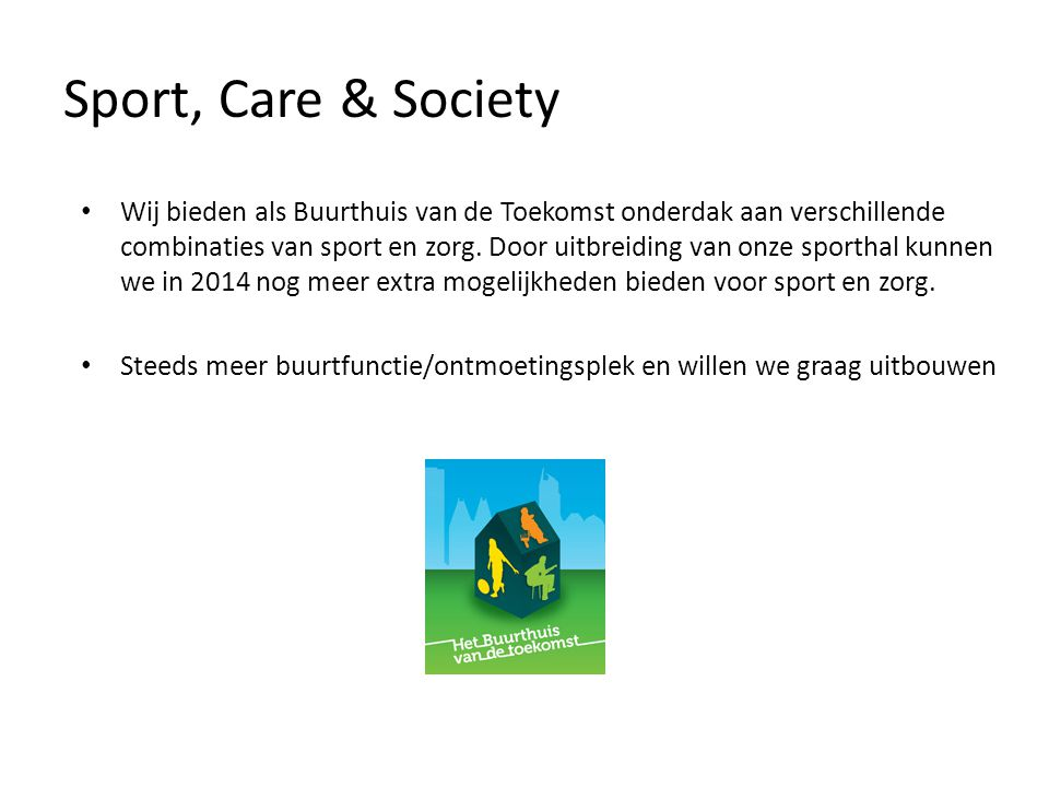 Sport, Care & Society