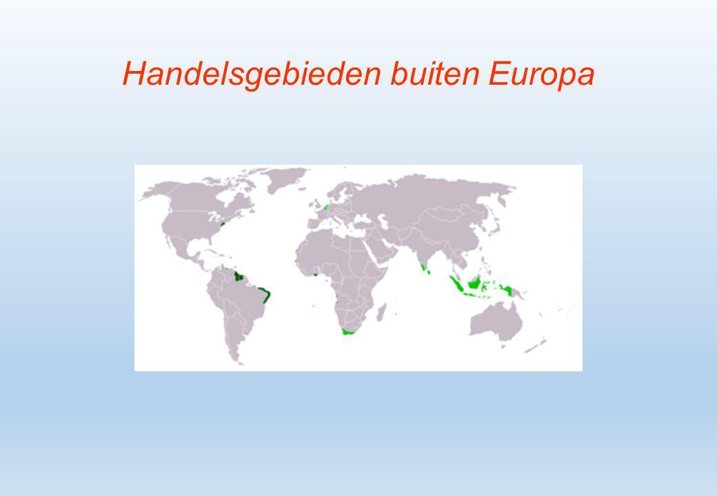 Handelsgebieden buiten Europa