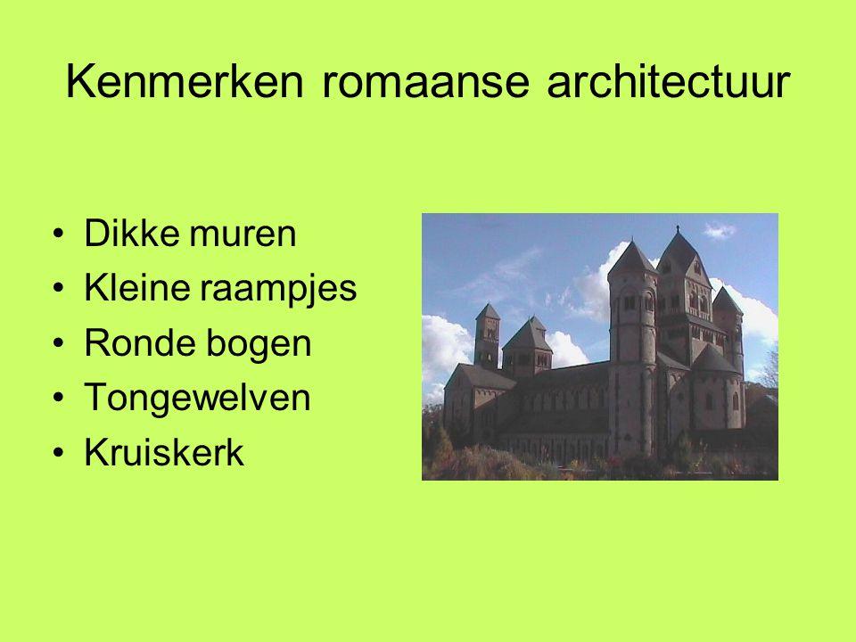 Kenmerken romaanse architectuur