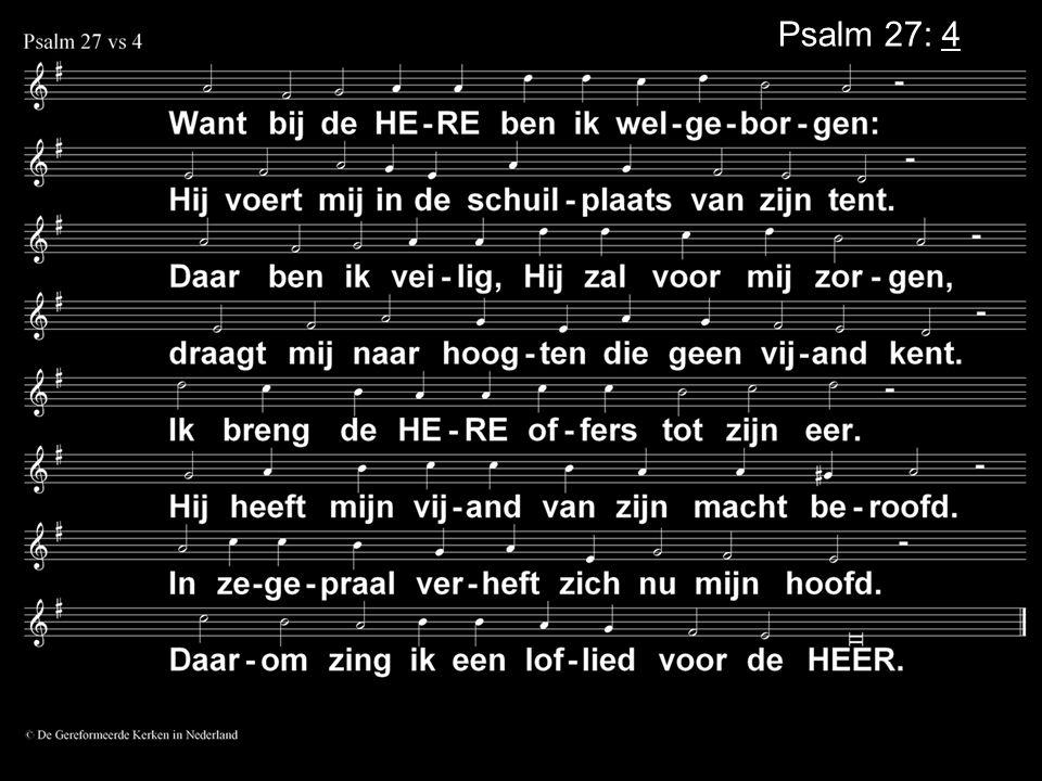 Psalm 27: 4