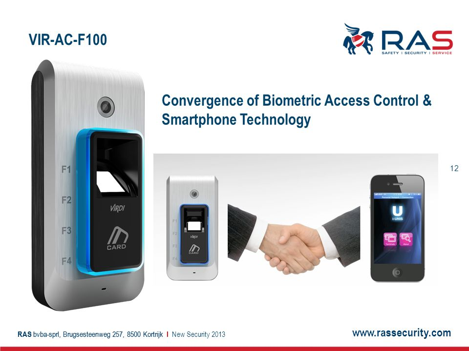 Convergence of Biometric Access Control & Smartphone Technology