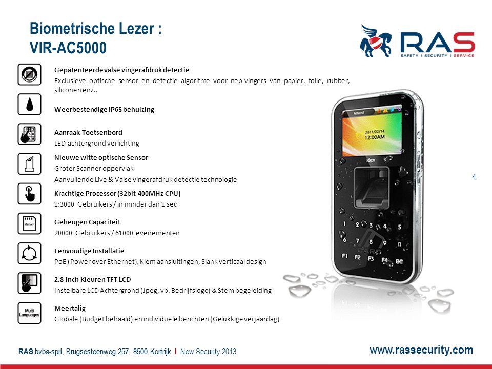 Biometrische Lezer : VIR-AC5000