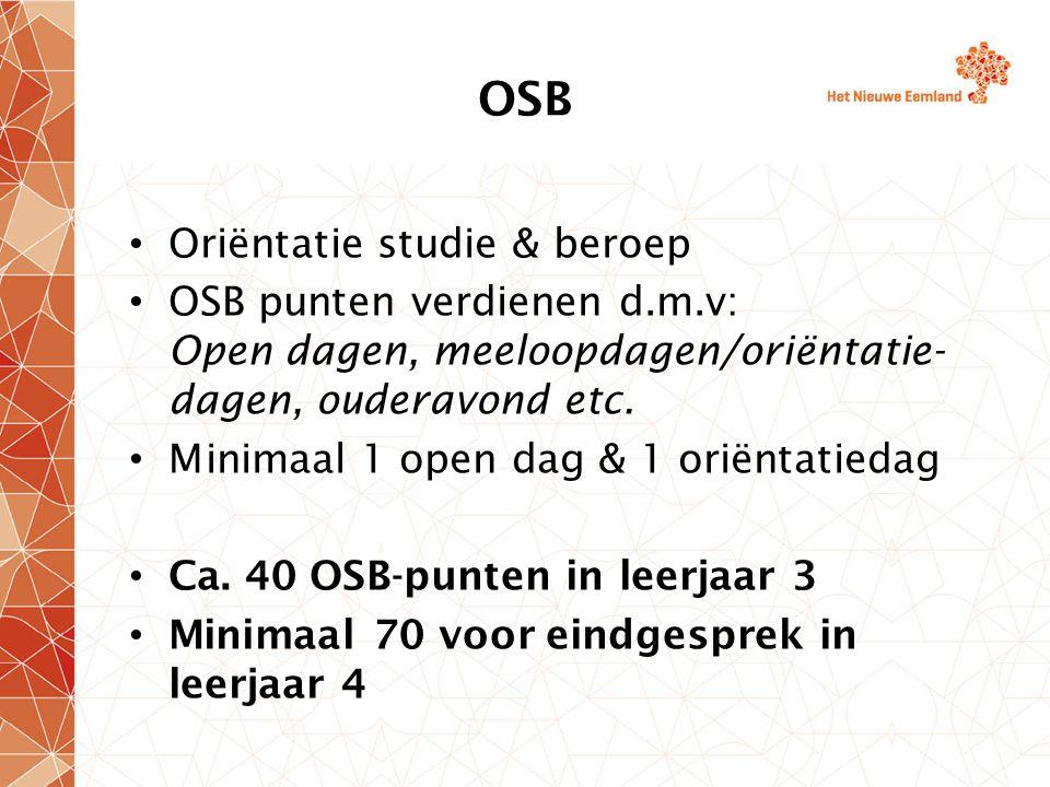 OSB Oriëntatie studie & beroep