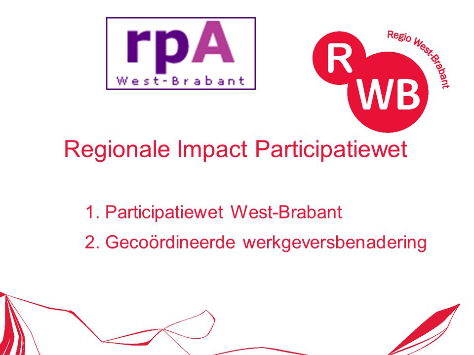 Regionale Impact Participatiewet