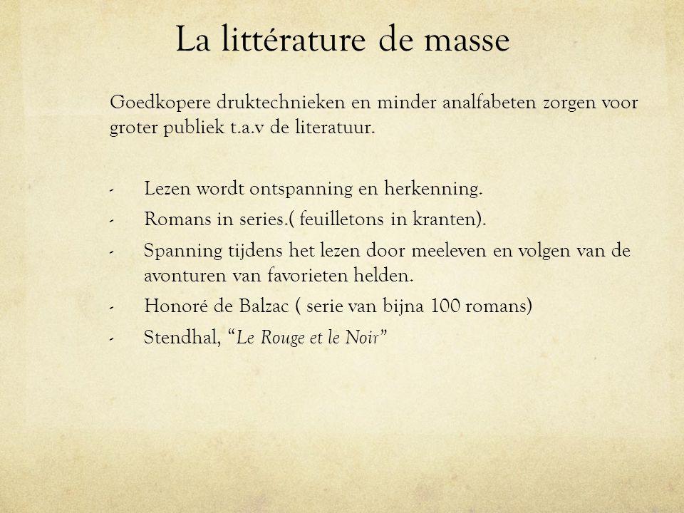 La littérature de masse