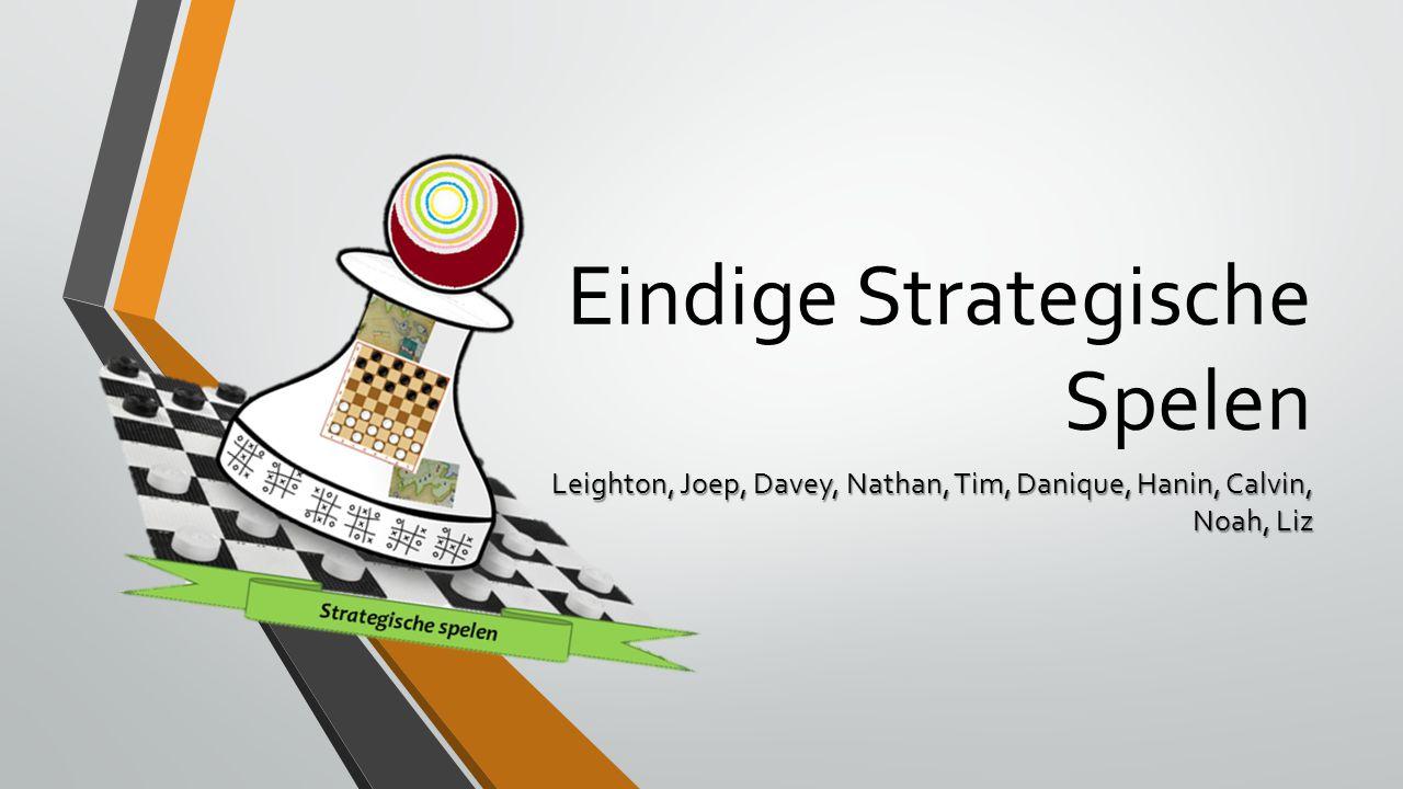 Eindige Strategische Spelen