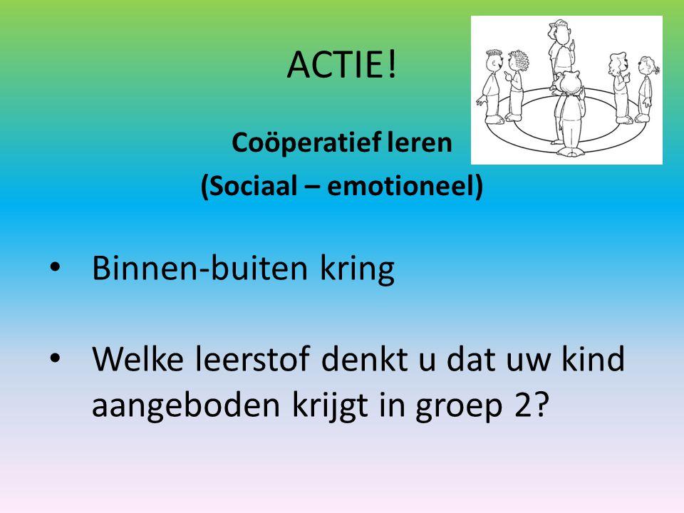 Coöperatief leren (Sociaal – emotioneel)