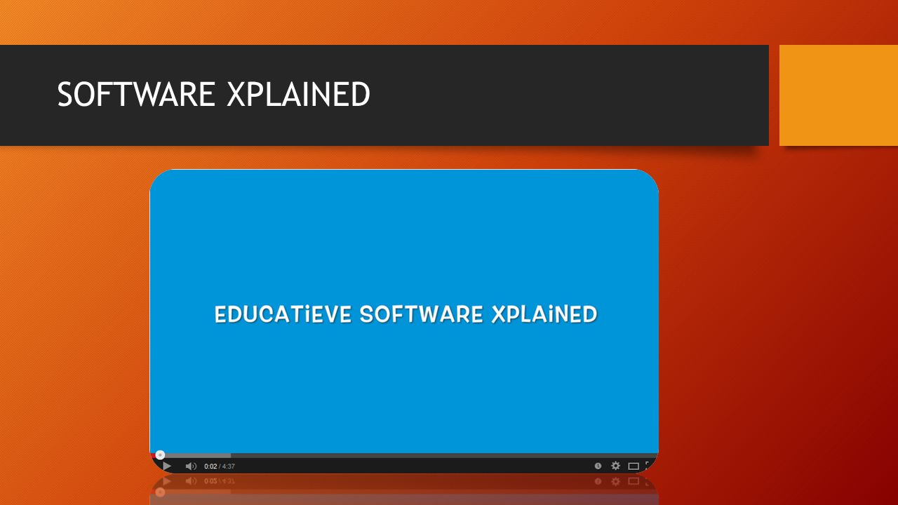 SOFTWARE XPLAINED