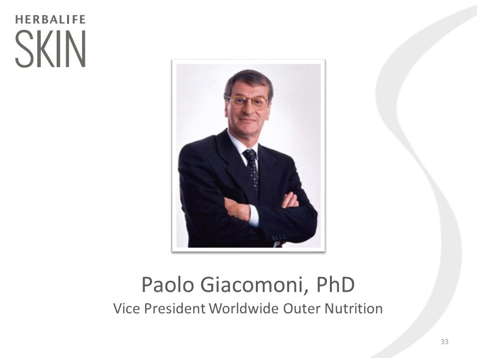 Vice President Worldwide Outer Nutrition