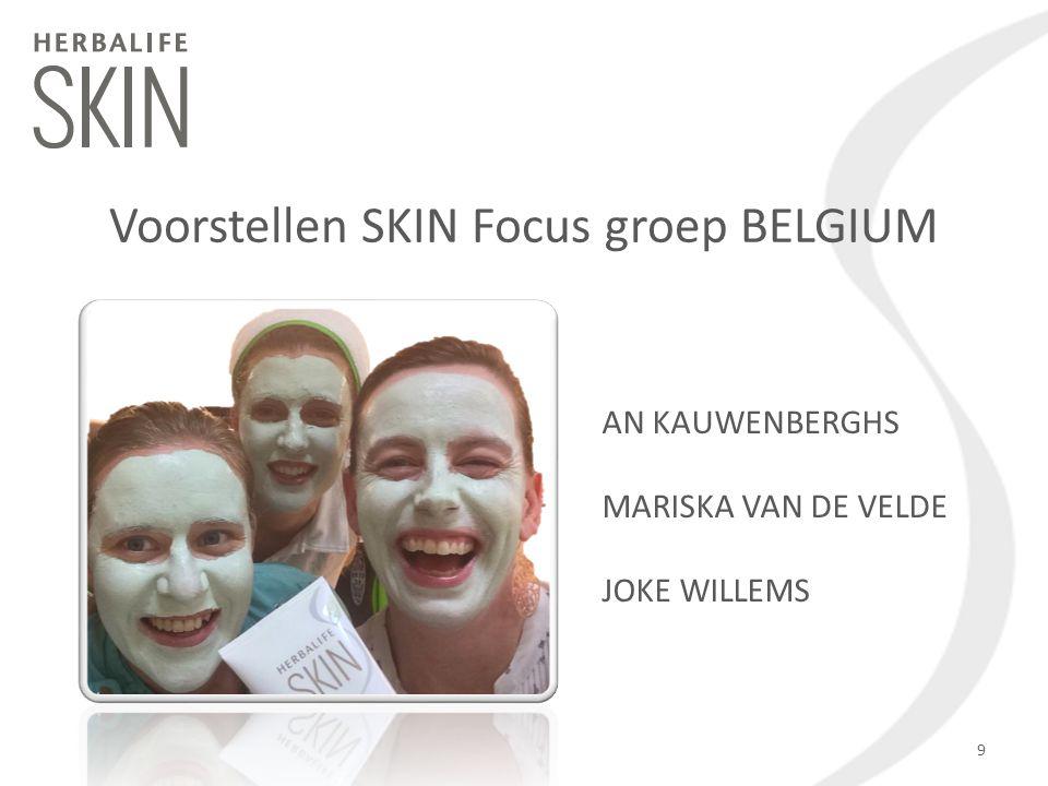 Voorstellen SKIN Focus groep BELGIUM