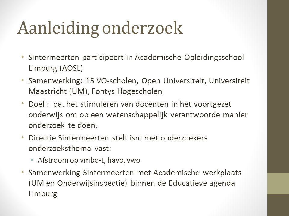 Aanleiding onderzoek Sintermeerten participeert in Academische Opleidingsschool Limburg (AOSL)