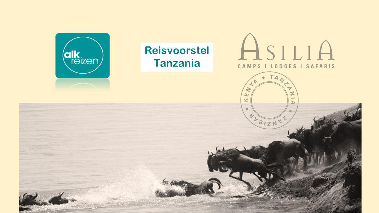 Reisvoorstel Tanzania