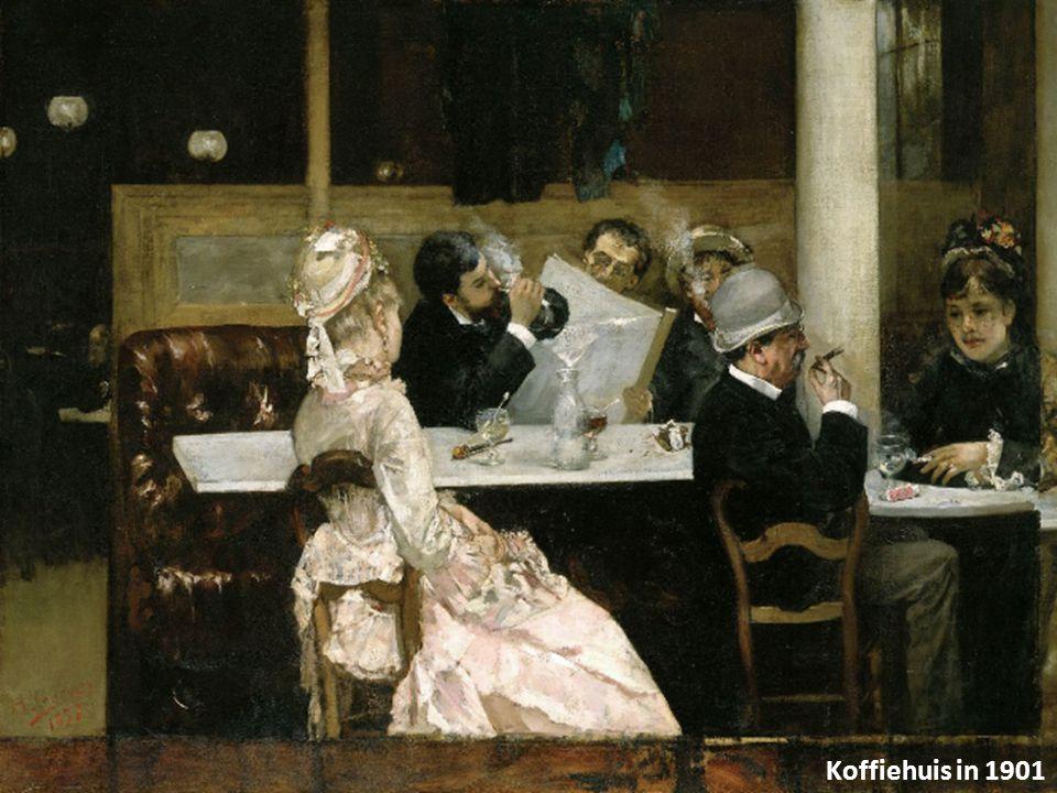 Koffiehuis in 1901