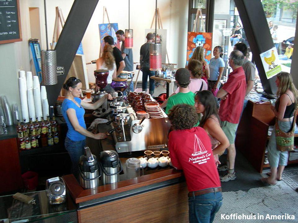 Koffiehuis in Amerika