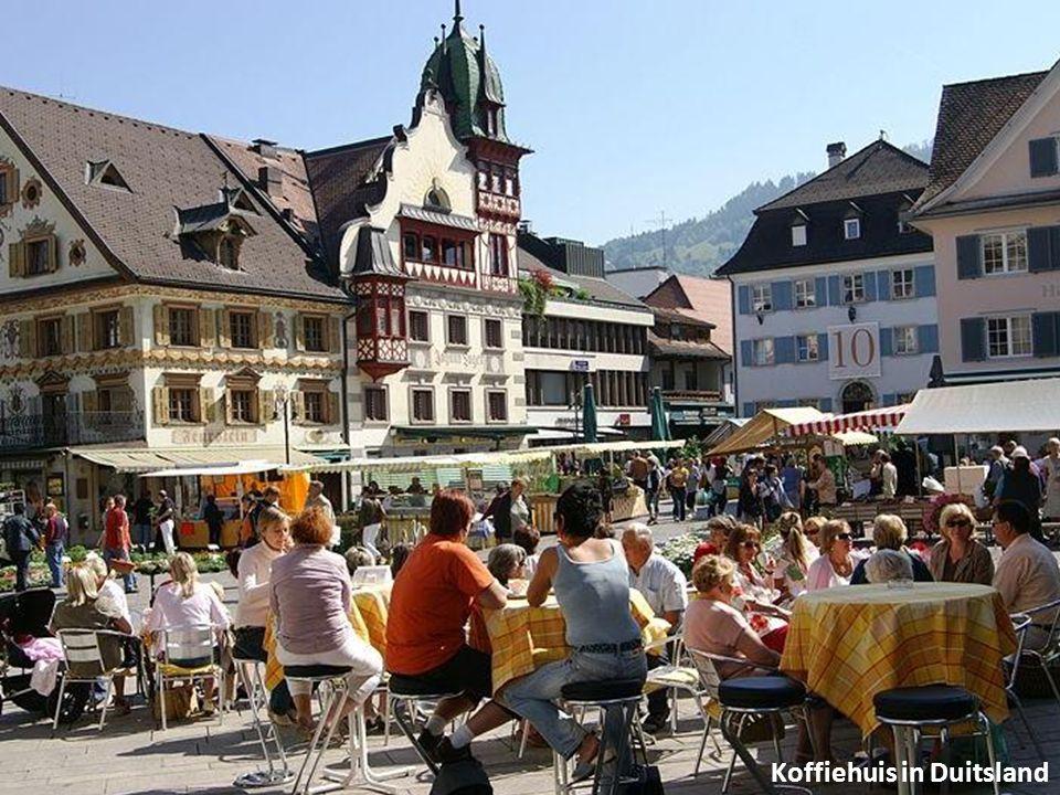 Koffiehuis in Duitsland
