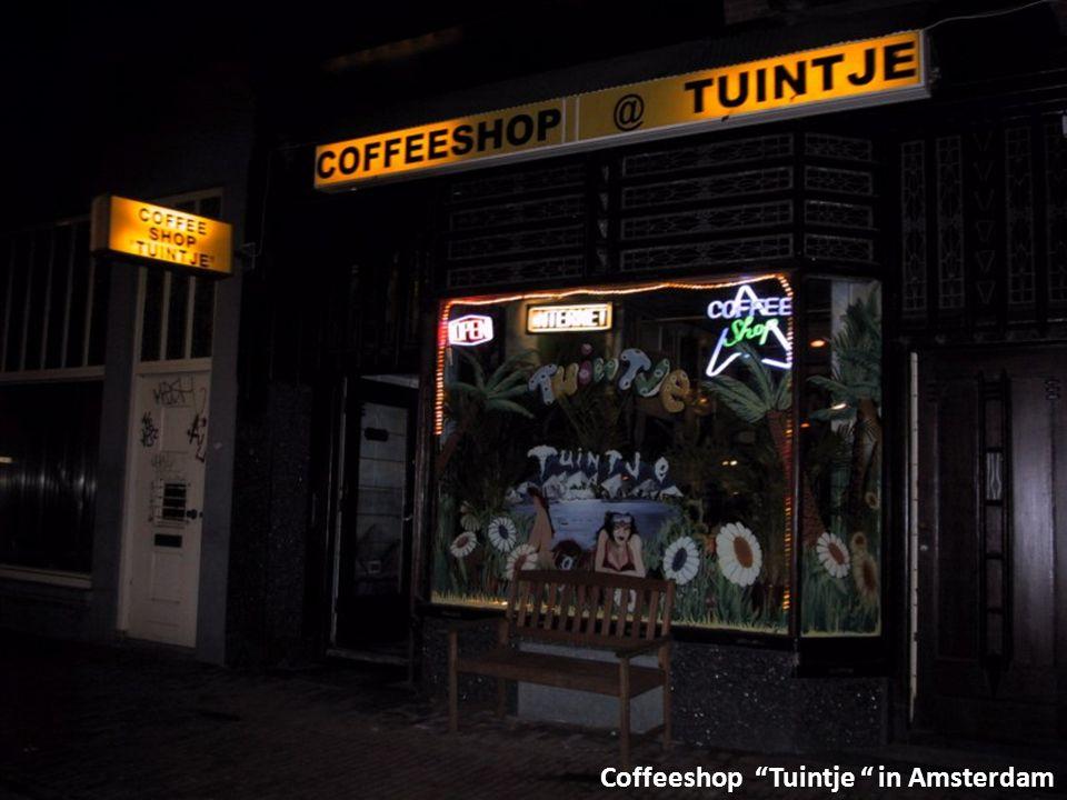 Coffeeshop Tuintje in Amsterdam