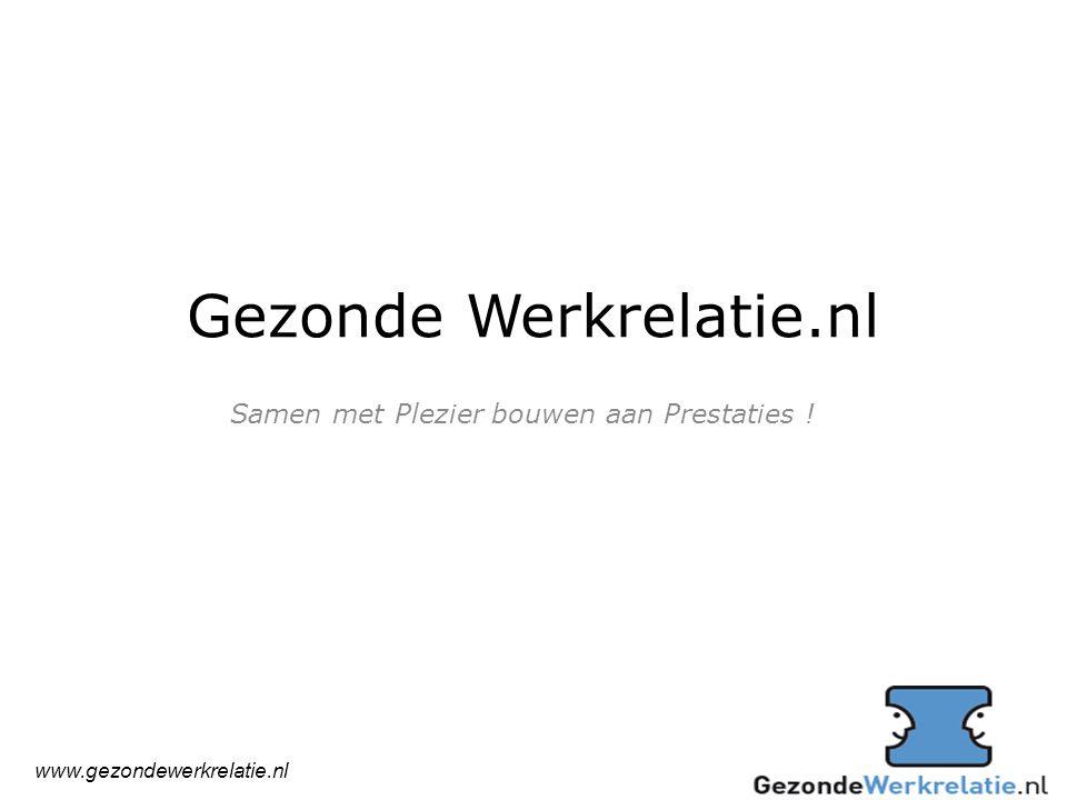 Gezonde Werkrelatie.nl