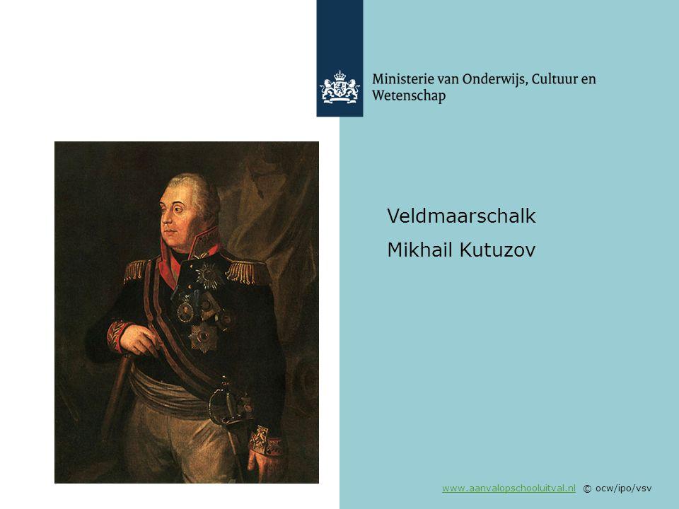 Veldmaarschalk Mikhail Kutuzov