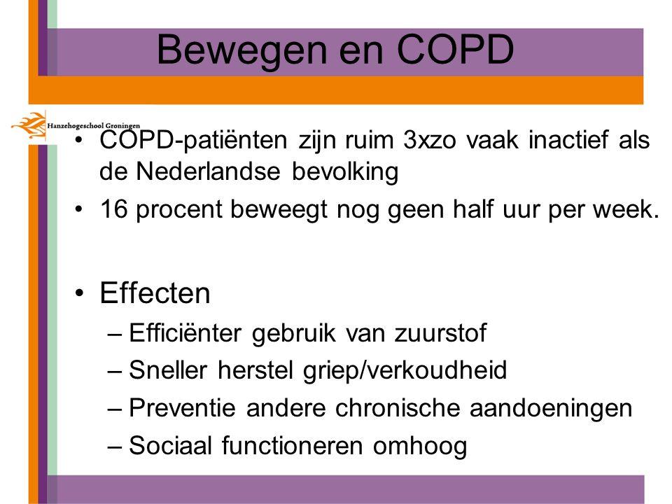 Bewegen en COPD Effecten