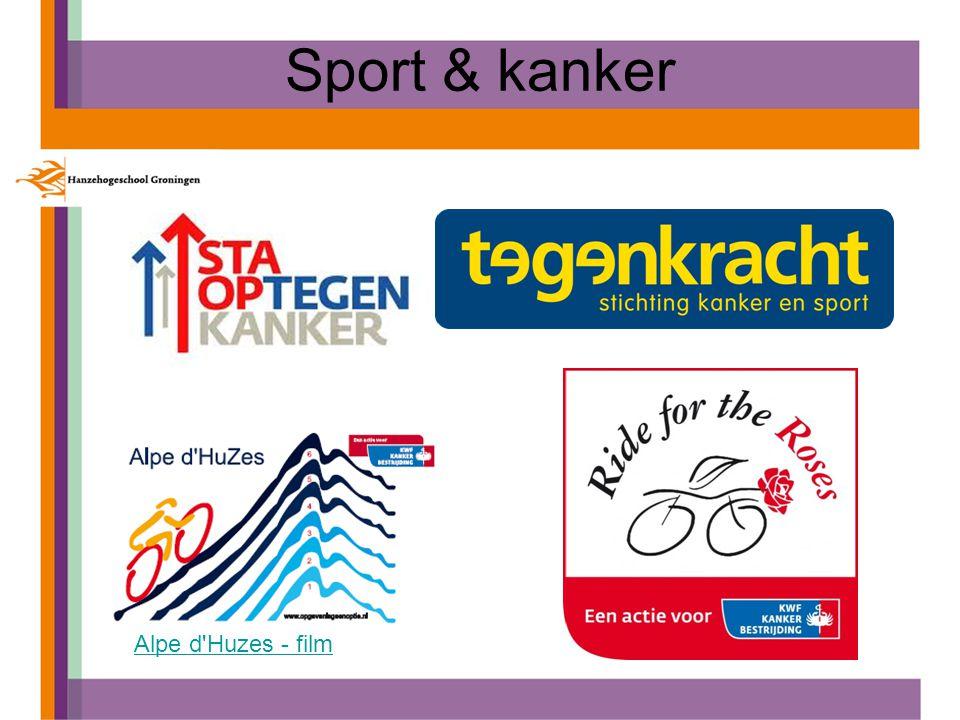 Sport & kanker Alpe d Huzes - film