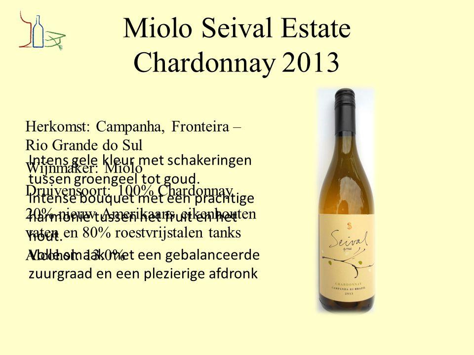 Miolo Seival Estate Chardonnay 2013