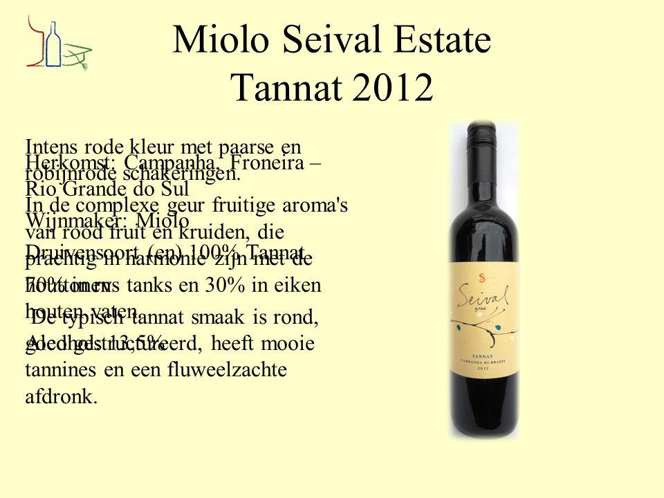Miolo Seival Estate Tannat 2012