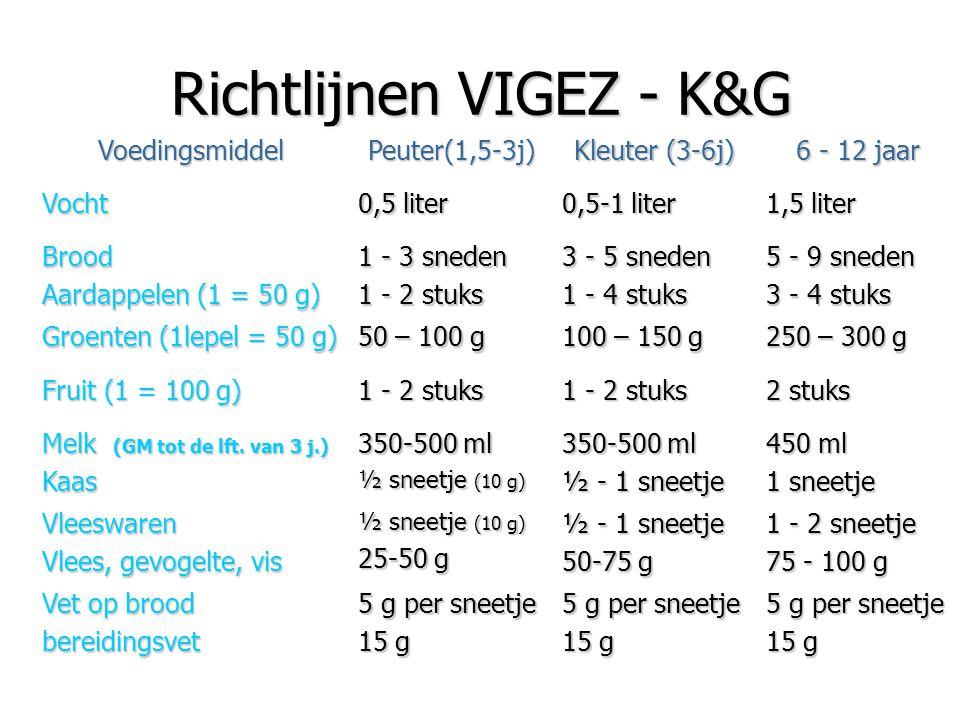 Richtlijnen VIGEZ - K&G