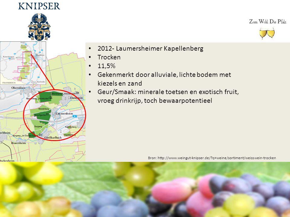 2012- Laumersheimer Kapellenberg Trocken 11,5%