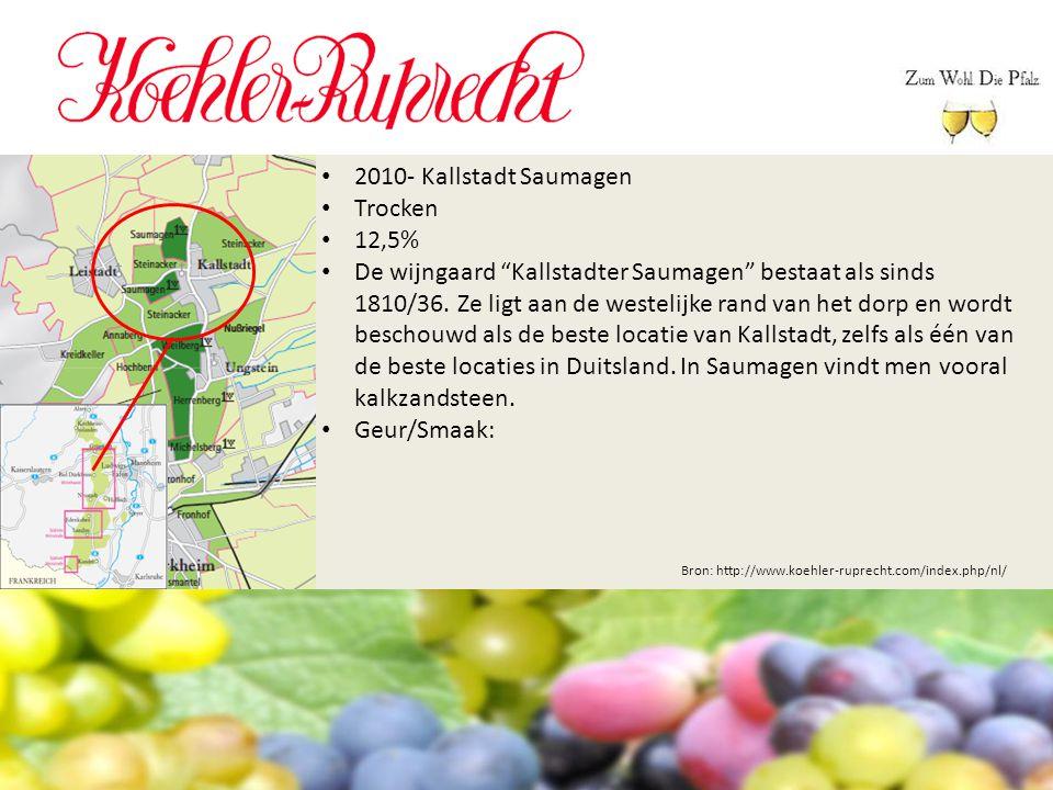 2010- Kallstadt Saumagen Trocken 12,5%