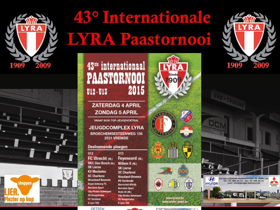 43° Internationale LYRA Paastornooi