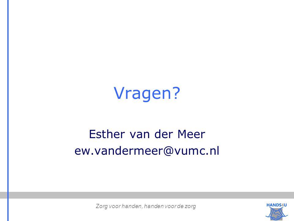 Esther van der Meer ew.vandermeer@vumc.nl