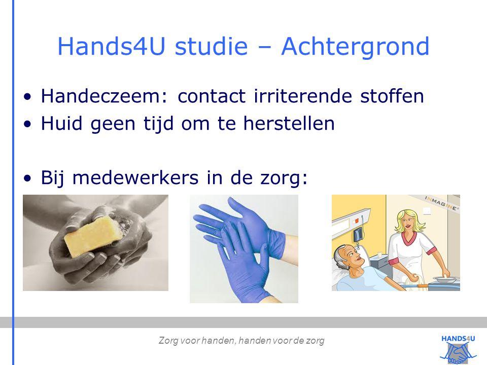 Hands4U studie – Achtergrond