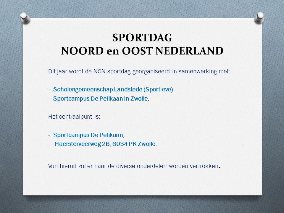 SPORTDAG NOORD en OOST NEDERLAND