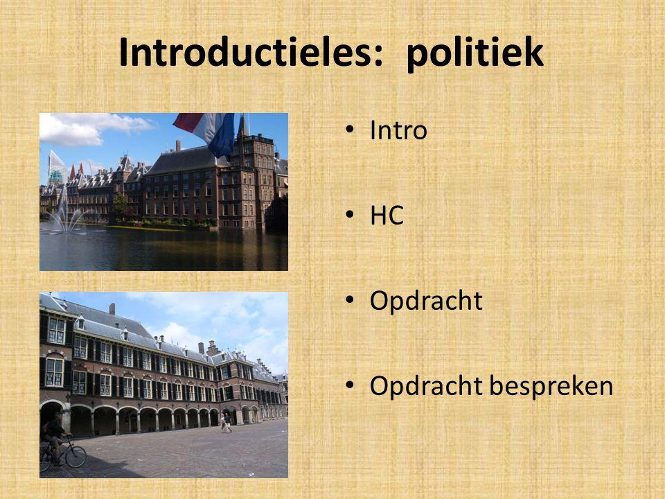 Introductieles: politiek