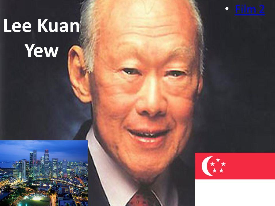 Lee Kuan Yew Film 2. Waar denken jullie aan bij het woord dictatuur Sadam houssein Iran Heeft dictatuur ook voordelen