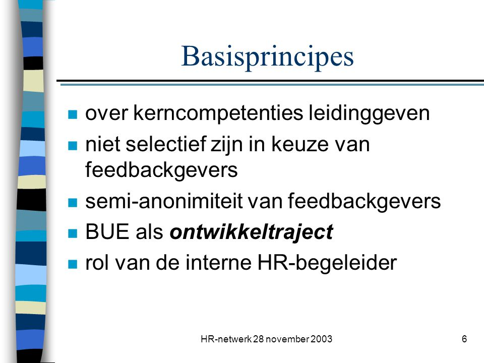 Basisprincipes over kerncompetenties leidinggeven