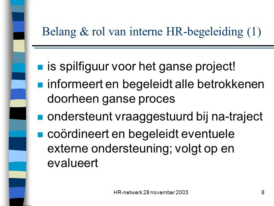 Belang & rol van interne HR-begeleiding (1)