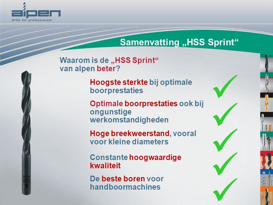 """Samenvatting """"HSS Sprint"""