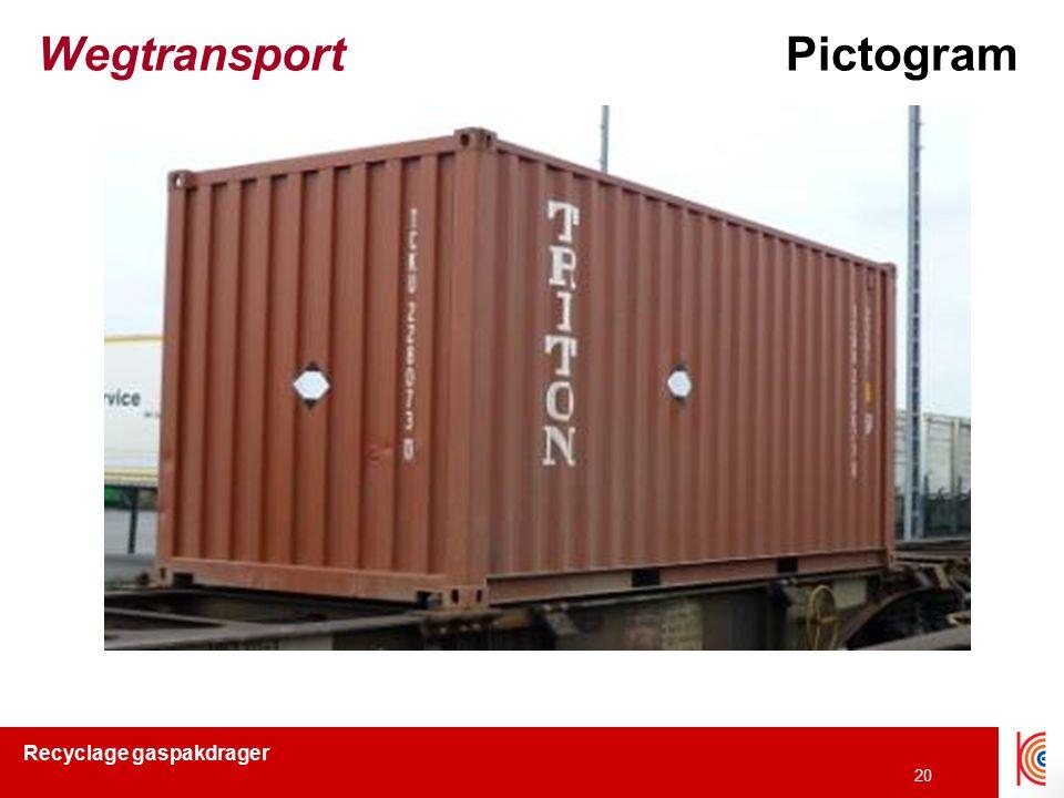 Wegtransport Pictogram