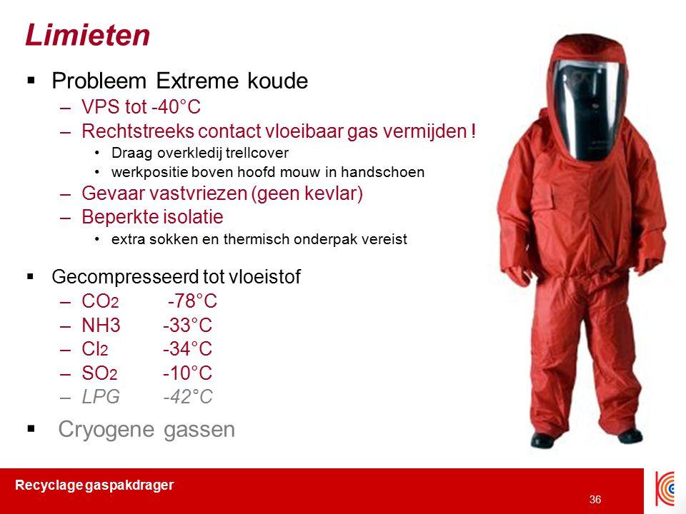 Limieten Probleem Extreme koude Cryogene gassen VPS tot -40°C