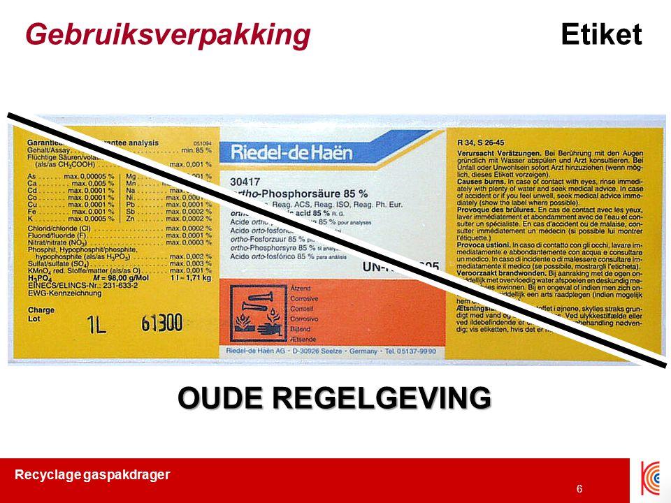 Gebruiksverpakking Etiket