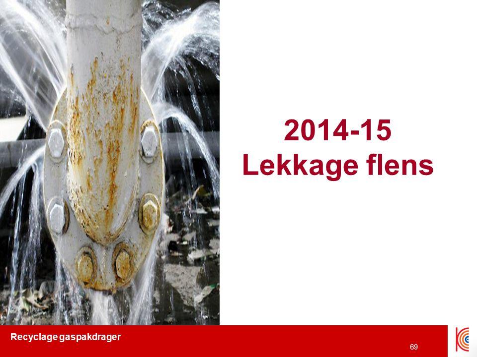 2014-15 Lekkage flens