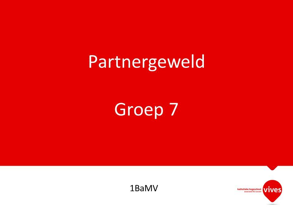Partnergeweld Groep 7 1BaMV