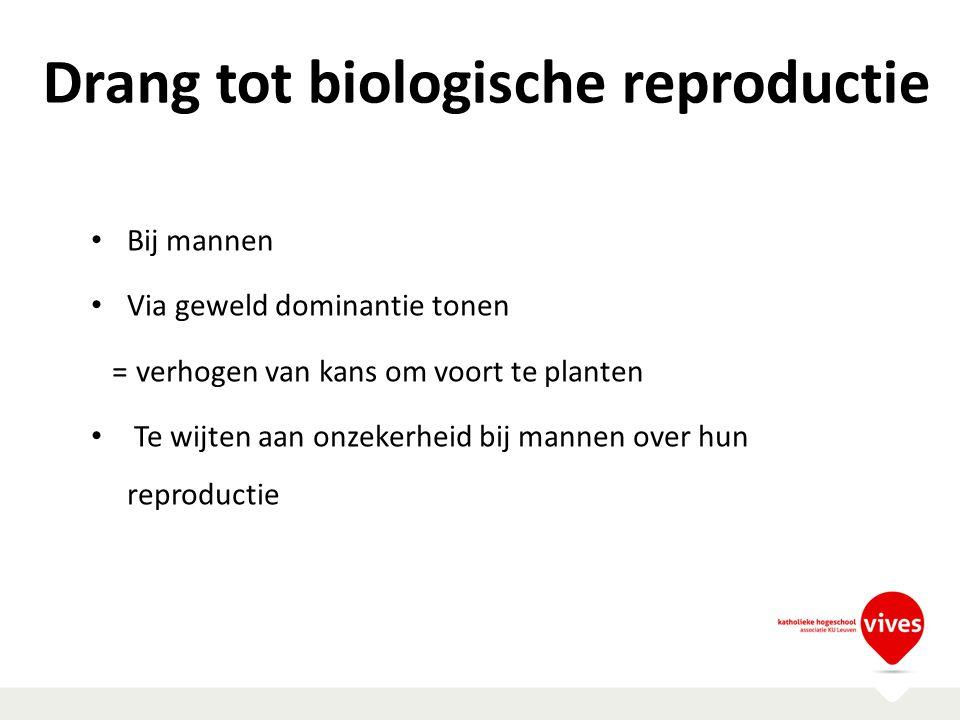 Drang tot biologische reproductie