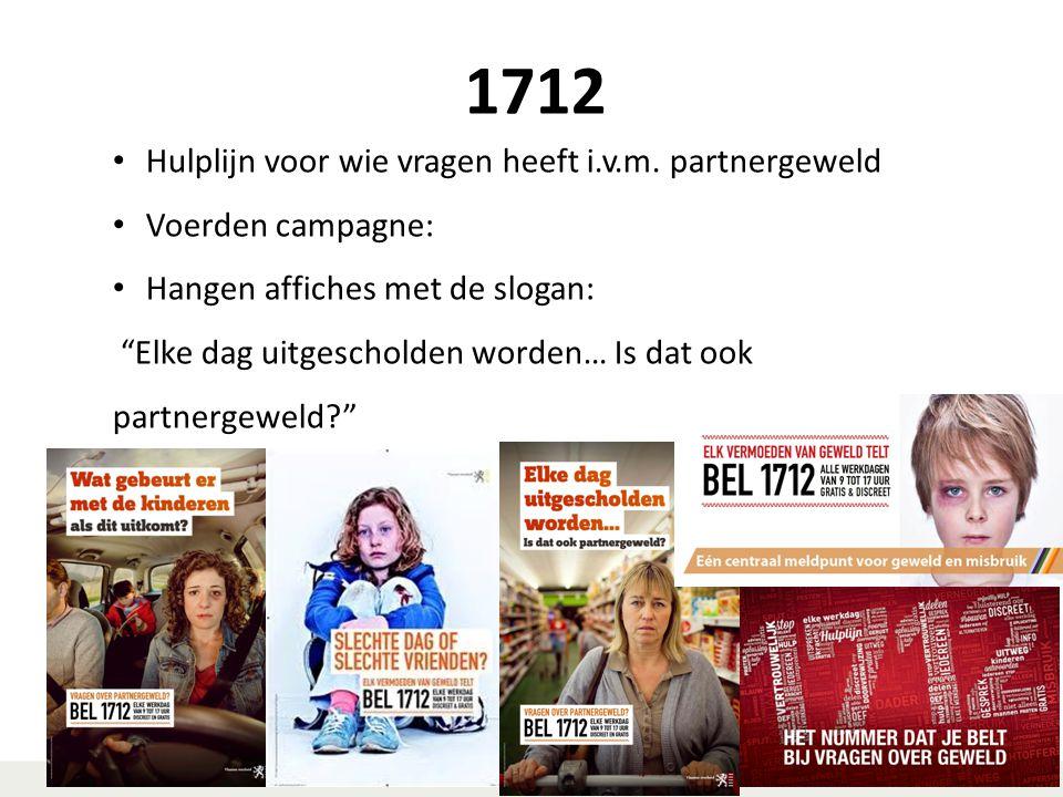 1712 Hulplijn voor wie vragen heeft i.v.m. partnergeweld